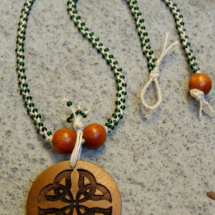 Braided Hemp Celtic Necklace