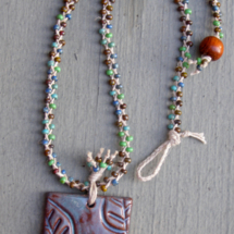 Braided Hemp Necklace