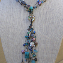 In the Surf Abalone Necklace