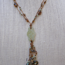 Jade Knot Necklace