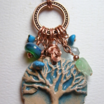 Spring Tree Necklace