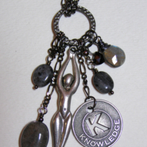 Goddess of Knowledge Necklace