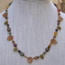 Autum Leaf Necklace