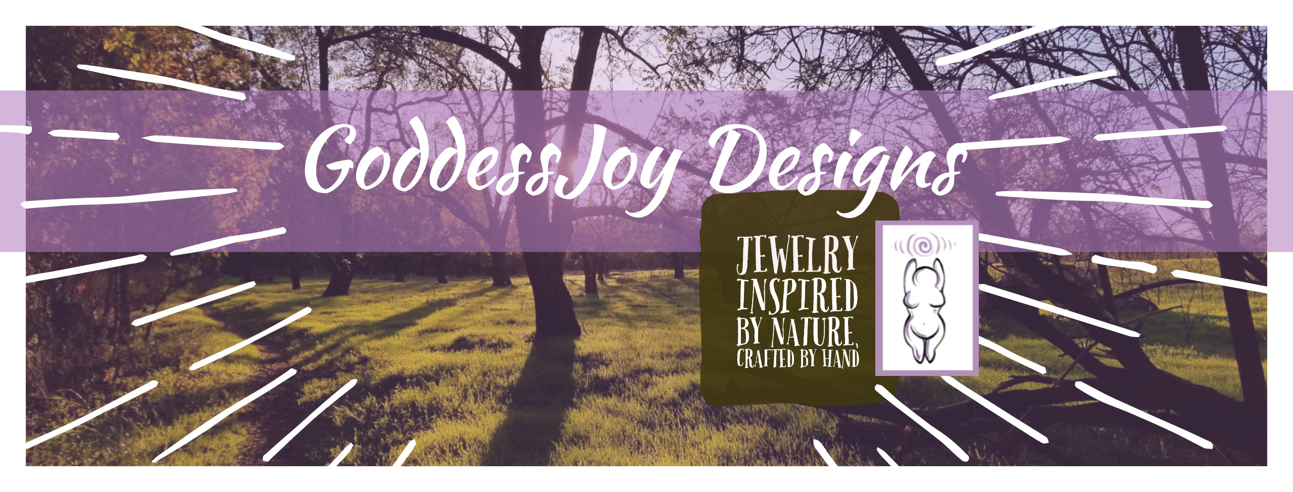 GoddessJoy Designs Jewelry Inspired by Nature Crafted by Hand