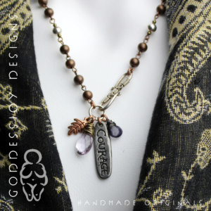 Courage Talisman Necklace
