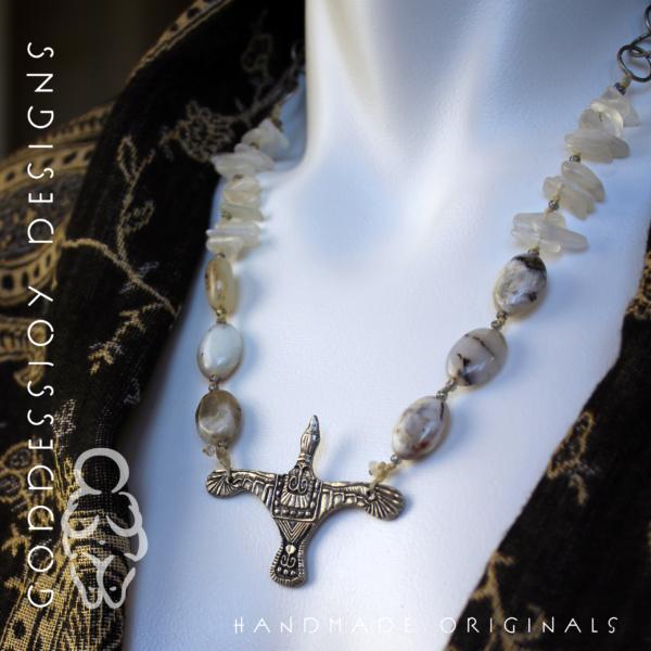 Migration - Snow Goose Necklace